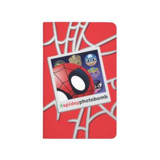 #spideyphotobomb Spider-Man Emoji Journal