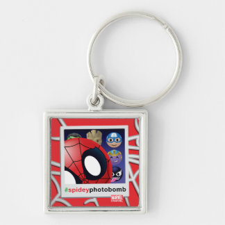 #spideyphotobomb Spider-Man Emoji Key Ring