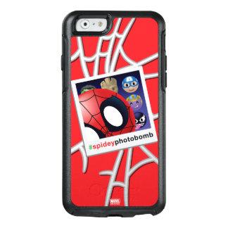 #spideyphotobomb Spider-Man Emoji OtterBox iPhone 6/6s Case