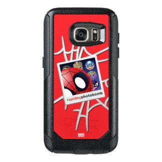 #spideyphotobomb Spider-Man Emoji OtterBox Samsung Galaxy S7 Case