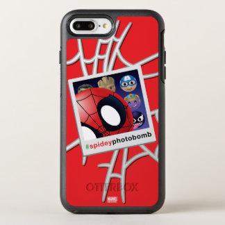 #spideyphotobomb Spider-Man Emoji OtterBox Symmetry iPhone 7 Plus Case