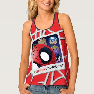 #spideyphotobomb Spider-Man Emoji Singlet