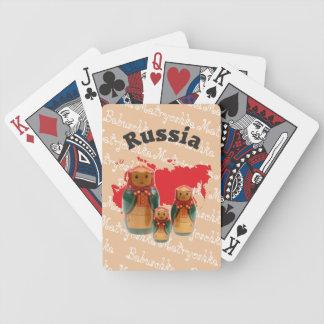 Spielkarten babushka Matrjoschka Matryoshka Bicycle Playing Cards