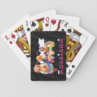 Spielkarten babushka Matrjoschka Matryoshka Playing Cards