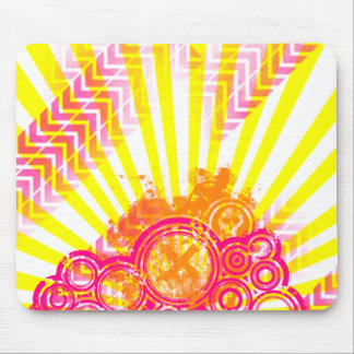 Spiffy Sunburst Mouse Pad