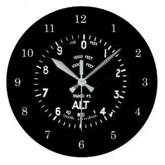 Spifire Altimeter Clock