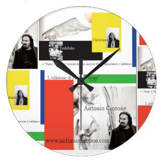 spiga antonio tiana toshihiko shogoro large clock