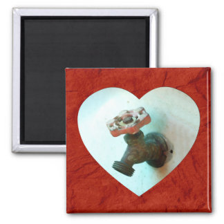 Spigot Love 2 Inch Square Magnet