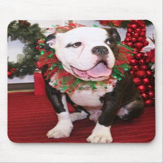 Spike - English Bulldog - Kahley Mousepad