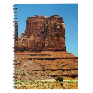 spike in the monument notebook