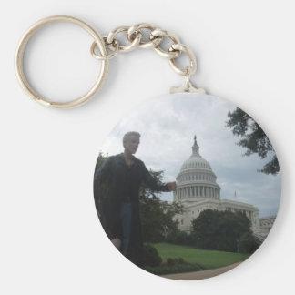 Spike in Washington Key Ring