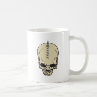 Spike Skull Coffee Mug
