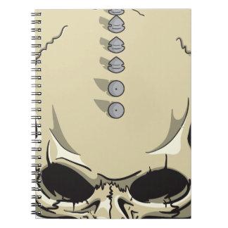 Spike Skull Notebook