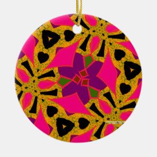 Spiked Lemonade Ceramic Ornament