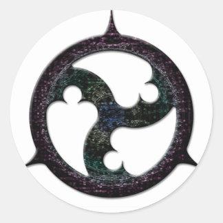 Spiked Triskel Sticker