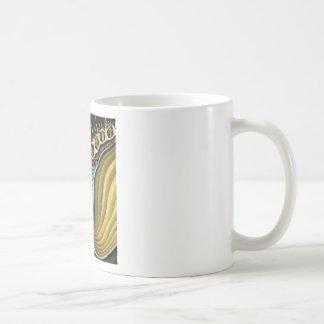 spikes in flower heart coffee mug