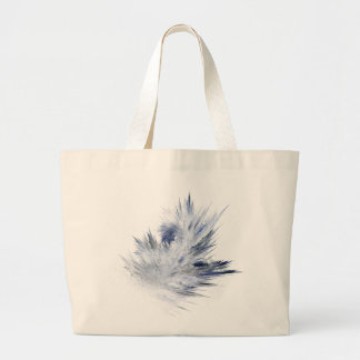 Spikes of Frost Large Tote Bag