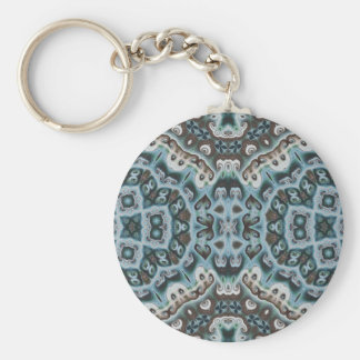Spikes, Points, and Swirls Key Ring
