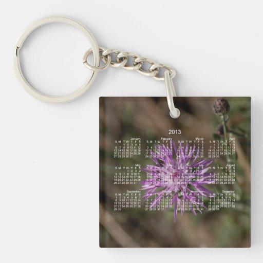 Spiky Clover; 2013 Calendar Acrylic Key Chains