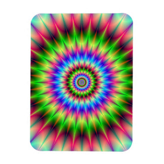 Spiky Color Explosion Magnet