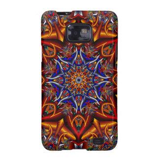Spiky flower galaxy s2 case