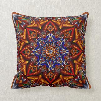 Spiky flower throw cushion