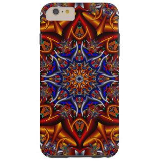 Spiky flower tough iPhone 6 plus case
