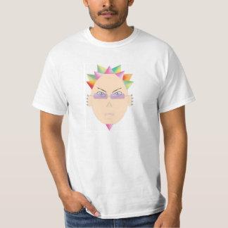 Spiky Head Rainbow Raver Tees
