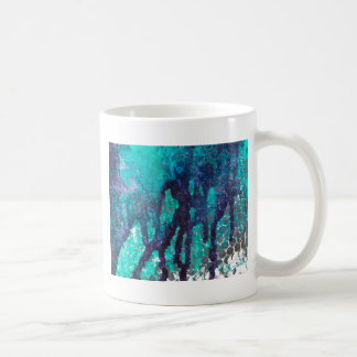Spilled Ink Blues Coffee Mug