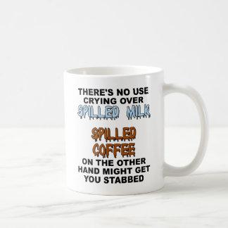 Spilled Milk Funny Mug