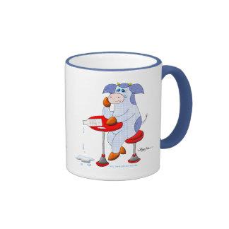 Spilled Milk Ringer Mug