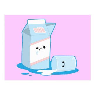 Spilled Milk Postcards