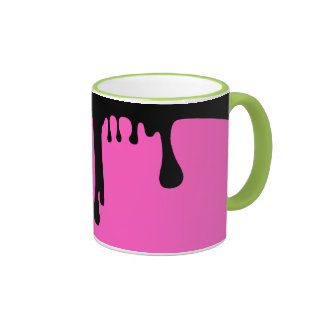 Spilled paint ringer mug