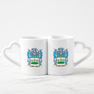 Spilling Coat of Arms - Family Crest Couple Mugs