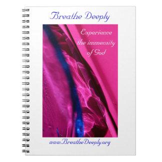 Spilling Pink Notebook