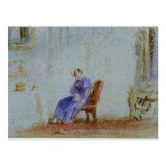 Spilt Milk, c.1828 Postcard