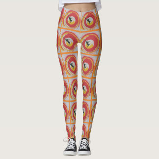 Spin Art Leggings