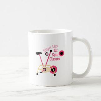 Spin Classes Coffee Mug