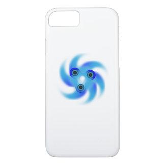 Spin Storm Fidget Hand Spinner  Blue Spinner iPhone 8/7 Case