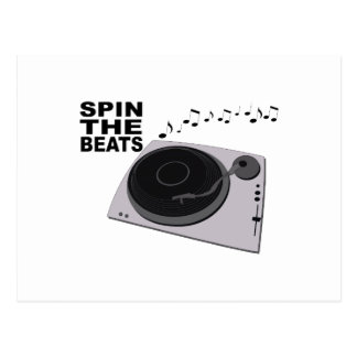 Spin The Beats Postcard