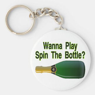 Spin The Bottle Key Ring