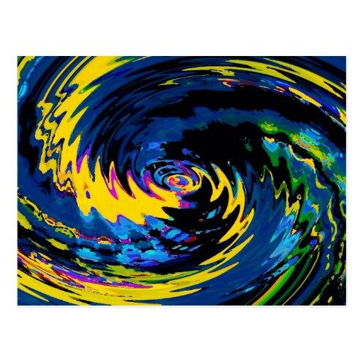 Spinart! Cosmic Schizophrenia Postcards
