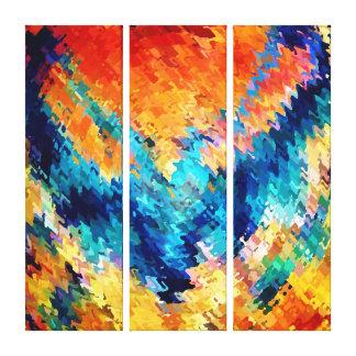 Spinart! Phoenix Rising Canvas Print