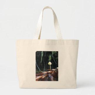 Spindly Mushroom Large Tote Bag