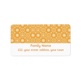 Spindot Beeswax Address Label
