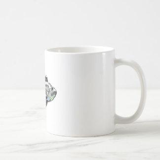 Spine Fish Coffee Mugs