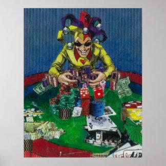 Spinetti Joker, Las Vegas Poster