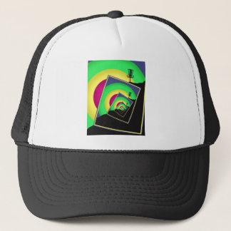Spinning Disc Golf Baskets 5 Trucker Hat