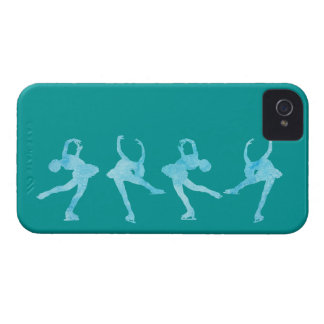 Spinning Figure Skater iPhone 4 Cover