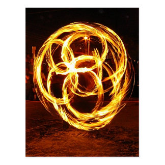 Spinning Fire - Celtic Knot Postcards